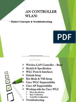 WLC - Basic Concepts & Troubleshooting_sCRIB | Wireless Lan