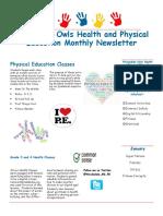 woodsdale owls december newsletter
