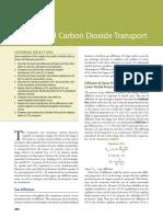 Oxygen and Carbon Dioxide Transport