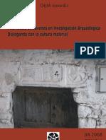 Actas de las I Jornadas de Jóvenes en Investigación Arqueológica
