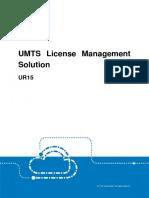 ZTE UMTS UR15 License Management Solution