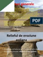 Relieful eolian