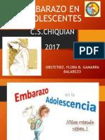 Embarazo en Adolescentes 2017