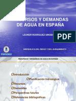Presen Recursos Hidricos Espana