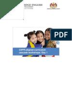 CEFR-CI Day 1 Handouts