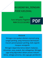 Metode Kjeldhal YUNI.a.togaTOROP