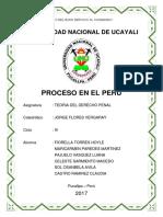 Proceso en El Peru