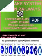 WAGON AIRBRAKE SYSTEM,INDIAN RAILWAYS.