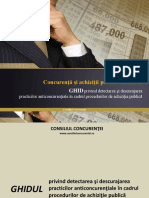 Ghid Practici Anticoncurentiale Licitatii