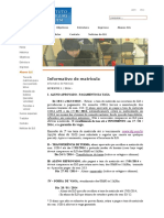 Informativo de Matrícula (ILG)