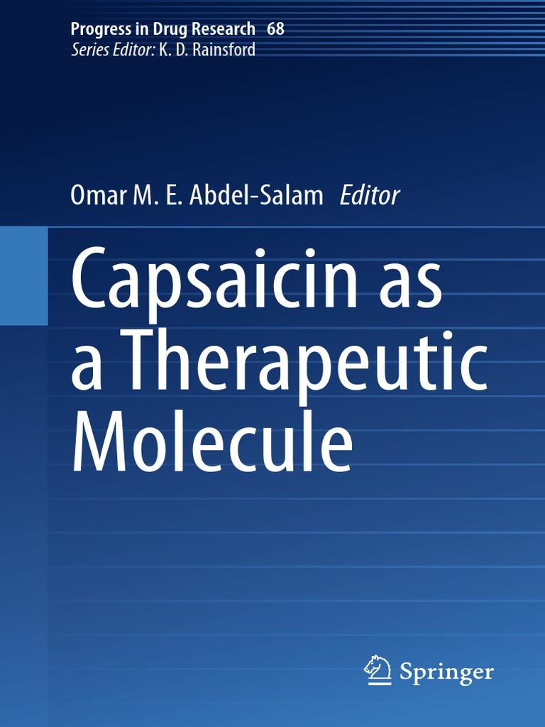 Omar M E Abdel Salam Eds Capsaicin As A Therapeutic