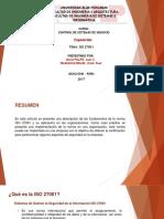 Trabajo ISO 27001