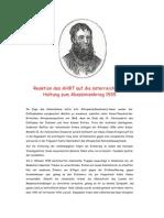 2.Sandwirtsbrief / Reaktion des AHBT auf die österreichische Haltung zum Abessinienkrieg 1935