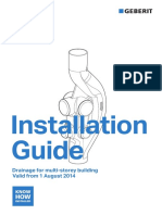 Geberit Sovent Installation Guide 2014