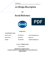 Social Reformer Disign Document