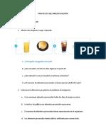 Investigación Sobre Los Alimentos Procesados
