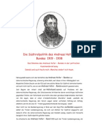4.Sandwirtsbrief / Die Südtirolpolitik des Andreas Hofer