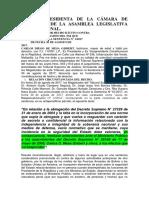 Denuncia Penal Contra Magistrados Del Tsj