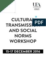 CTSN 2016 Programme - Web