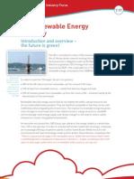 STEM-Renewable Energy Industry Focus