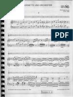 Crusell Clarinet Concerto 2 Piano