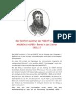 7.Sandwirtsbrief / Der Konflikt Zwischen Der NSDAP Und Dem