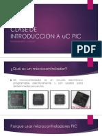 Clase de Introduccion a Uc Pic