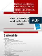 Guía de Redacción en Formato APA