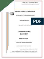 Evaluacion Transformadores