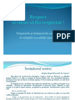 Anexa 1 Respect, Drepturi Si Indatoriri