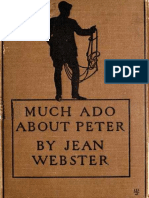 Much Ado About Peter Jean Webster