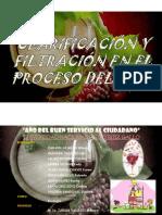 Clarificacion y Filtracion