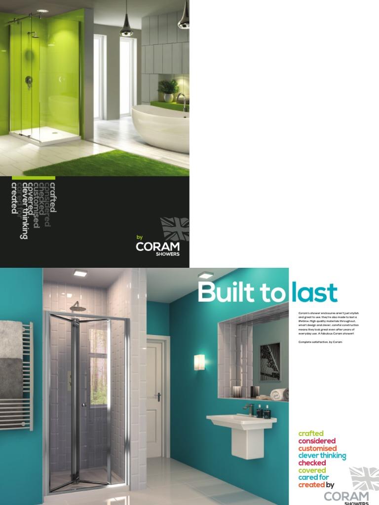 Coram Brochure 2015 Door Shower
