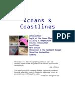 oceans   coastal processes notes kean university