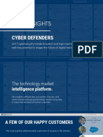 CB Insights Cyber Defenders Report