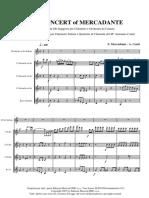 mercadante clarinet partitura