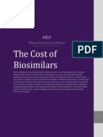 WSGR - The Cost of Biosimilars