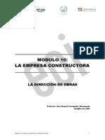 Procedimientos Empresa Constructora Word