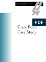 2007 Share Food Case Study