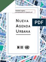 UN-Habitat (2017) - Nueva Agenda Urbana NUA-Spanish