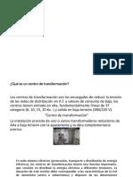 PRESENTACIÓN CENTROS DE TRASFORMACION ISTX 5D