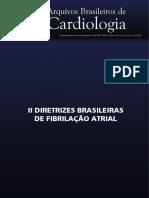 II Diretriz Fibrilacao Atrial