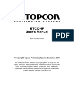BTconf User Manual