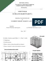 Stručni rad iz oblasti građevinarstva - Prezentacija