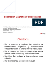Magnetica y Electrostatica x x