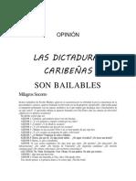 Las Dictaduras Caribeñas