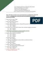 Optoelectronics Syllabus