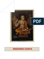 Madhwa Vijaya Gist in English