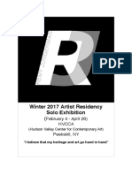 RJ - 2017 Winter Residency HVCCA, NY