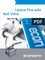 ECON 3-Piece Firesafe Ball Valve